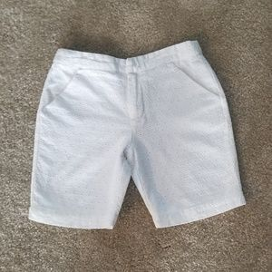 Gymboree White Eyelet Shorts Size 7